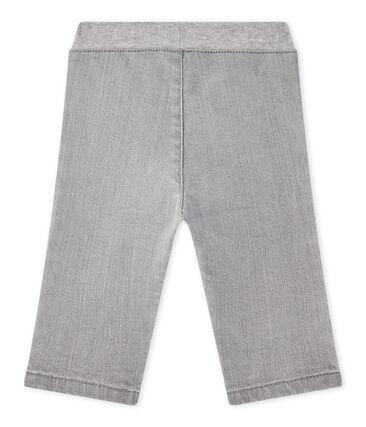 Pantalone bebé bambino denim