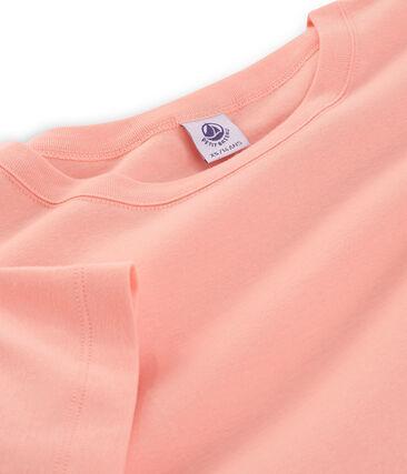 T-shirt maniche corte girocollo donna rosa Rosako
