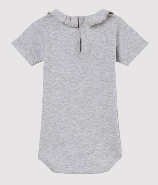 Body mc con collarino neonata grigio Poussiere Chine