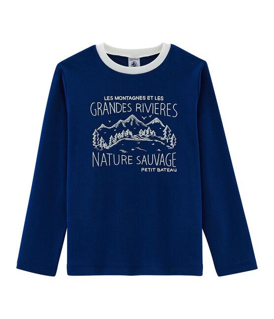 T-shirt bambino blu Limoges
