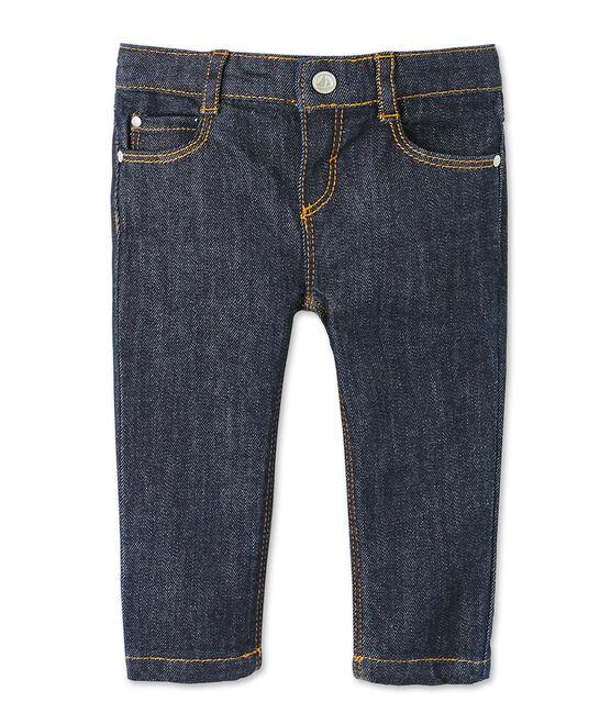 Pantalone slim bebè unisex in jeans blu Jean