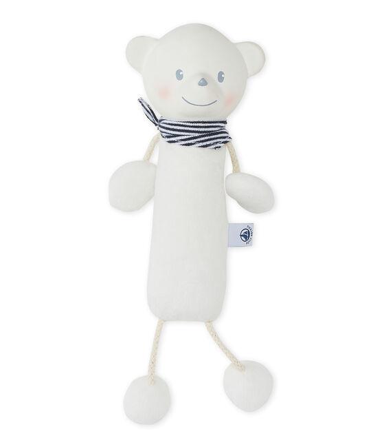 Doudou orsacchiotto bianco Ecume