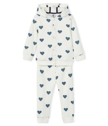 Felpa e jogging per bambini bianco Marshmallow / blu Astro