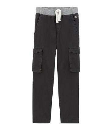 Pantalone per bambino in gabardine