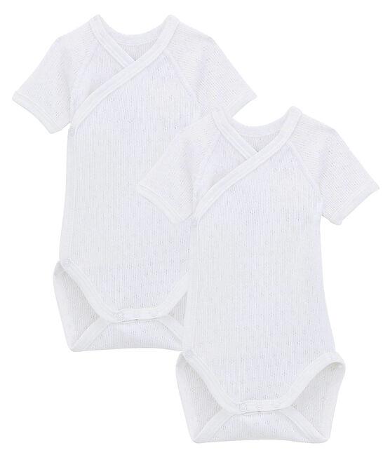 Duo body manica corta bebè lotto .