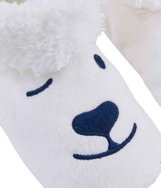 Babbucce unisex in pile bianco Marshmallow