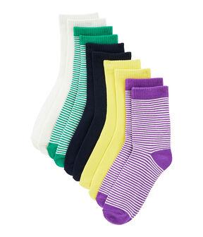 Set di 5 paia di calzini bambino lotto .