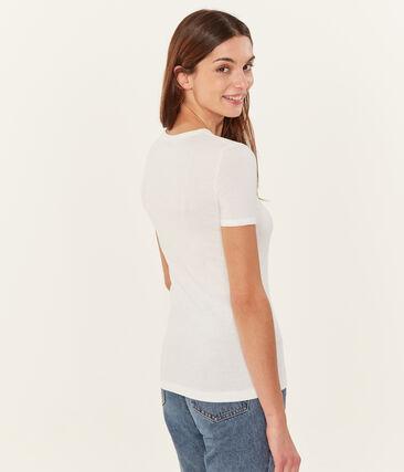 T-shirt maniche corte tinta unita donna