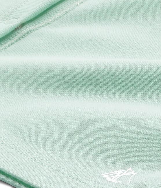 Cardigan bambina verde Amandelium
