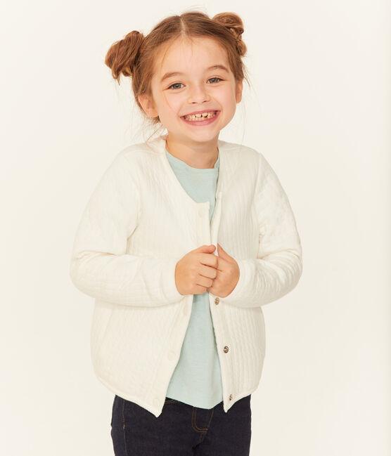 Cardigan bambina bianco Marshmallow