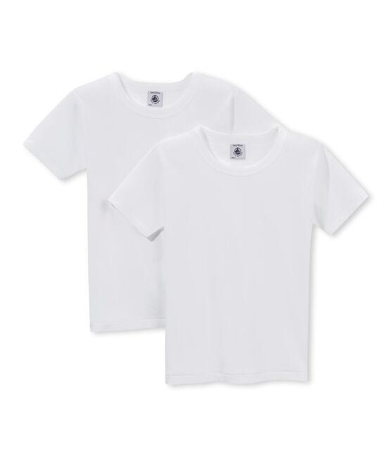Duo t-shirt ragazzo maniche corte lotto .
