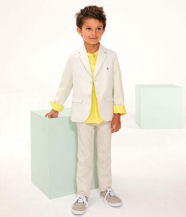Giacca bambino beige Beige / bianco Marshmallow