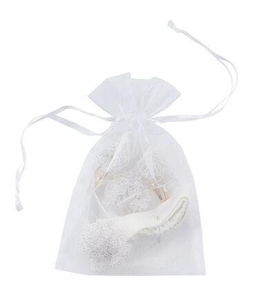 Lotto accessori per capelli bianco Marshmallow / giallo Dore