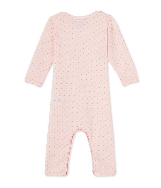 Tutina bebè bambina in lana e cotone rosa Vienne / rosa Gretel