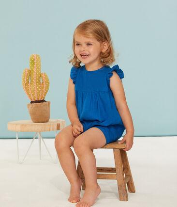 Tutina corta bambina in 100% lino