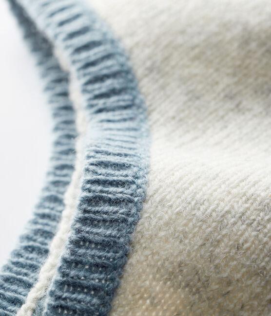 Cappellino grigio melange da neonato in tricot grigio Beluga