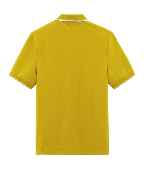 Polo maniche corte uomo giallo Bamboo