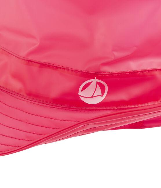 Cappello da pescatore pioggia bambino rosso Geisha