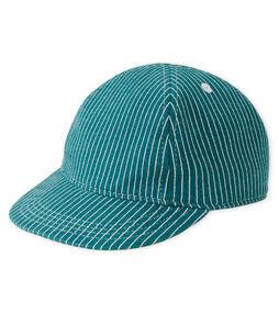 Cappellino da baseball maschietto in maglia a righe