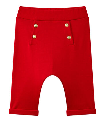 Pantalone bebé bambina tinta unita