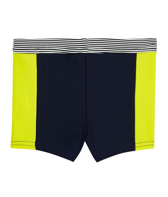 Shorts mare ecoresponsabili bimbo blu Smoking / giallo Jaune