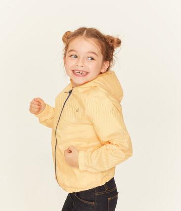 Giacchetta bambino unisex giallo Honey / bianco Marshmallow
