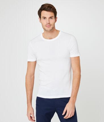 T-shirt uomo bianco Ecume