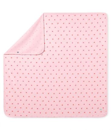 Lenzuolo bebè unisex fantasia rosa Vienne / bianco Multico