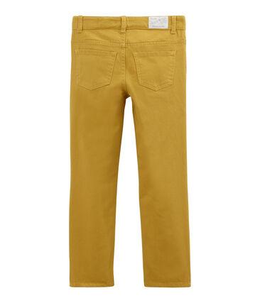 Pantalone per bambino in denim