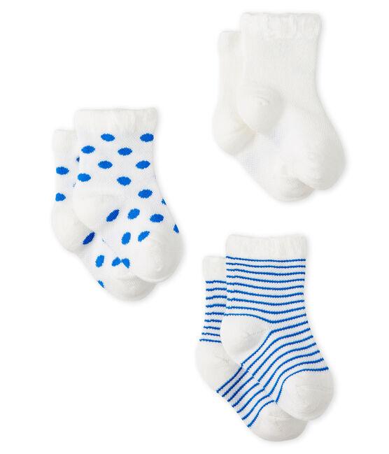 Confezione da 3 paia di calzini leggeri bebè femmina lotto .