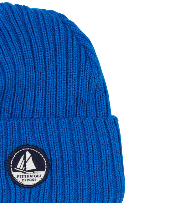 Cappellino bambino unisex blu Wave