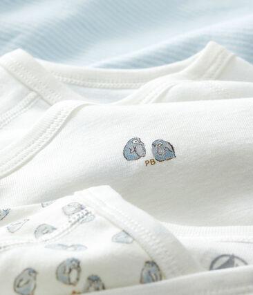 Trio di body nascita manica lunga bebè lotto .