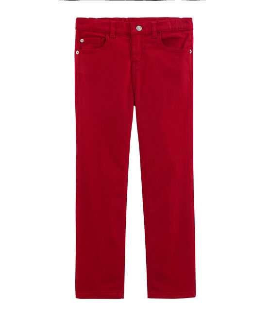 Pantalone bambino rosso Terkuit