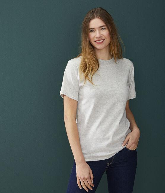 T-shirt Donna/Uomo grigio Beluga