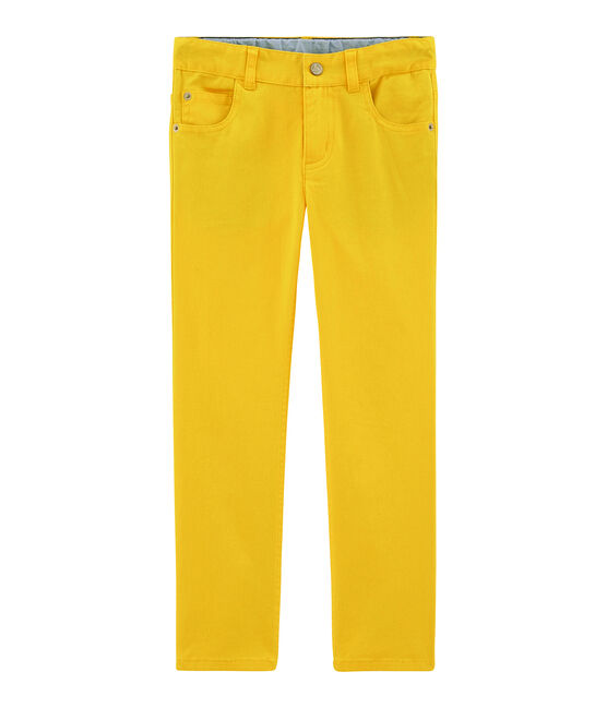 Pantalone bambino giallo Shine