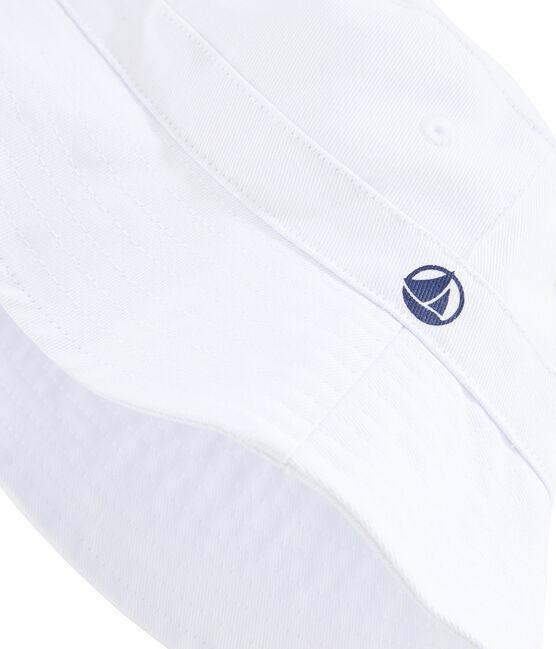 Cappello da pescatore bambino unisex bianco Marshmallow