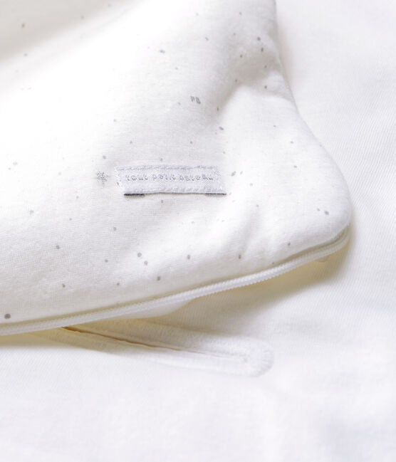 Nido d'angelo bebè in tubique bianco Marshmallow