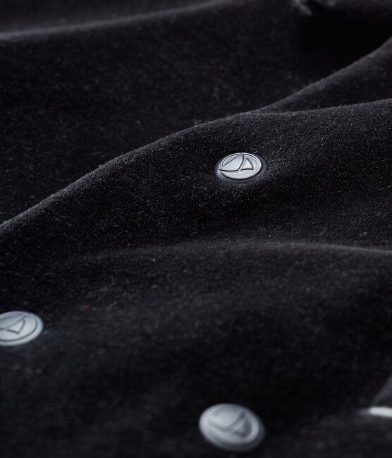 Giacca maschietto nero Noir
