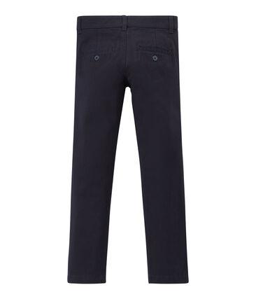 Pantaloni da bambino blu Smoking