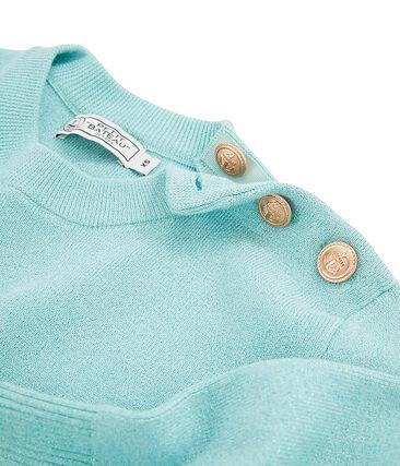 Pull donna blu Verglas Brillant