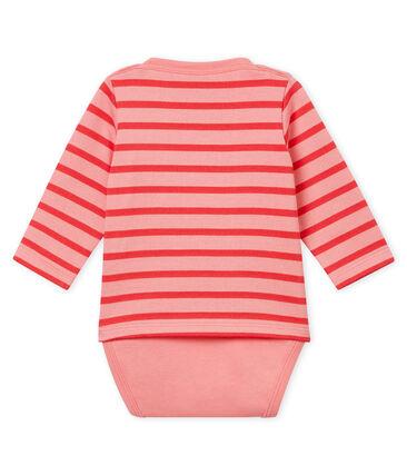 Body marinière per bebé rosa Gretel / rosa Impatience