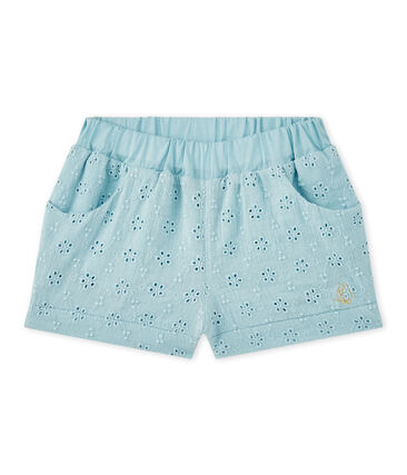 Pantaloncino bebè bambina sangallo
