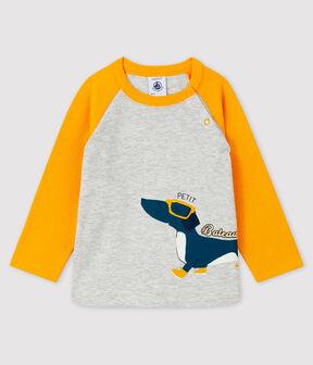 T-shirt bebè maschio BELUGA/BOUDOR