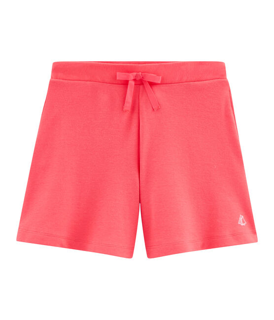 Bermuda in maglia bambina rosa Groseiller