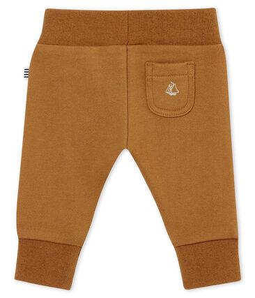 Pantalone per bebé maschio in molleton