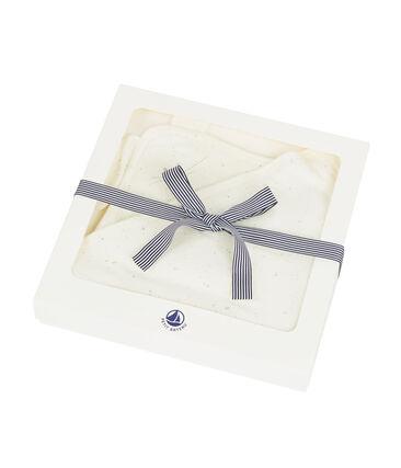 Asciugamano quadrato da bagno doudou bebè unisex