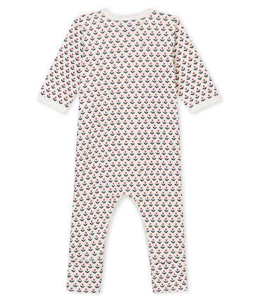 Tutina con piedini reversibili per bebé femmina