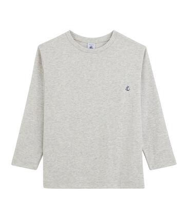 T-shirt a maniche lunghe bambino grigio Beluga