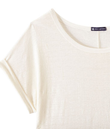 T-shirt donna in lino