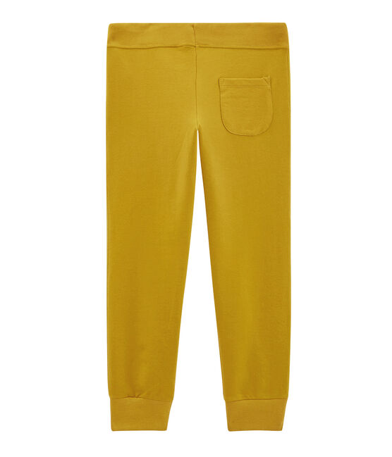 Pantalone bambino giallo Bamboo